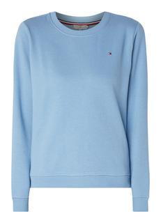 Louisa sweater met ribgebreide boorden