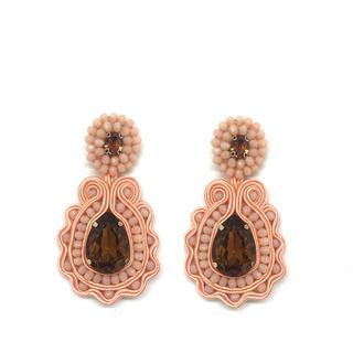 Pink Statement Earrings