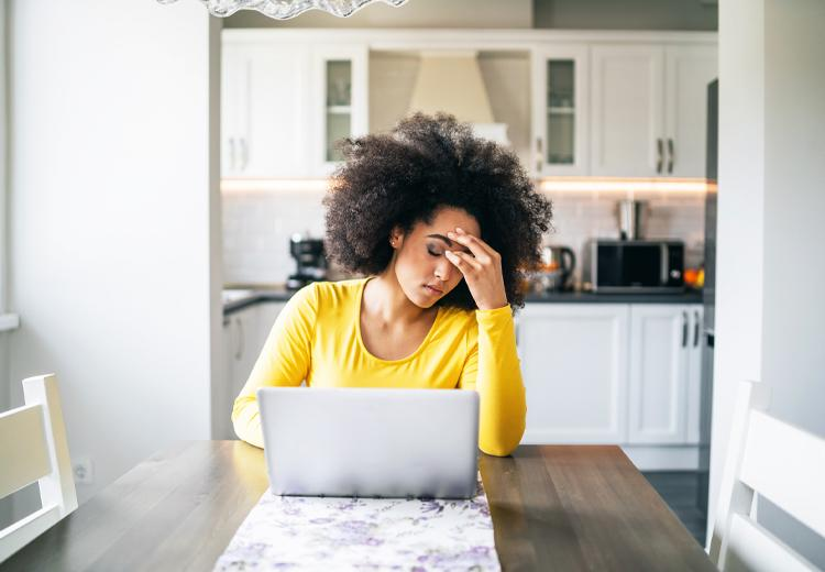 Invloed van stress op je haar