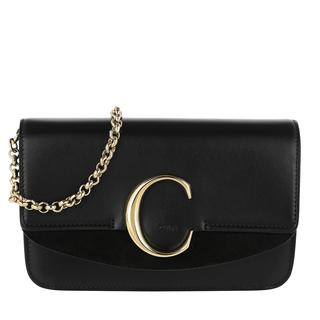 Tasche - C Clutch With Chain Black in zwart voor dames