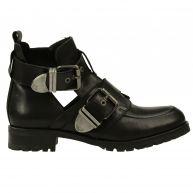 Sacha Cut out biker boots