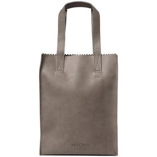 MY PAPER BAG Long Handle Zip Hunter Taupe