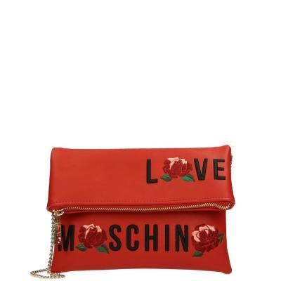 Moschino Love crossbody tas Rose red Footaction Goedkope Online Online Winkelen Top Kwaliteit Online bestellen Goedkope Koop Classic TBXglrRNIB