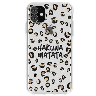 Design Backcover voor de iPhone 11 - Hakuna Matata