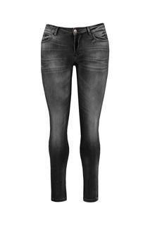 Dames O fit skinny jeans black Zwart