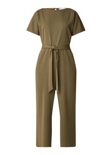 Slash cropped jumpsuit met rugdecolleté