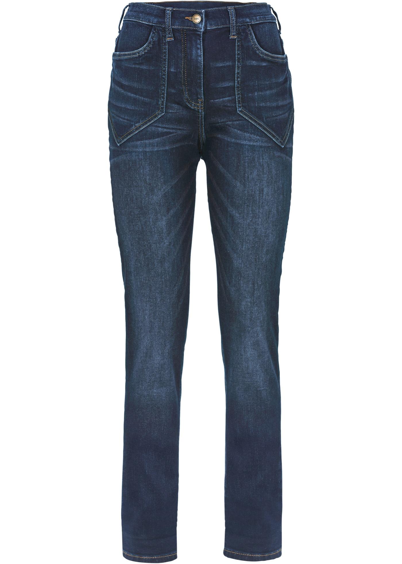 Bpc Waist High In Dames Jeans Collection Stretch Zwart Bonprix thsdQrC