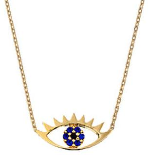 Eye Necklace Gold plated Ketting