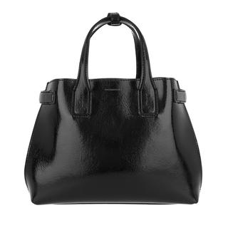 Tote - The Small Banner Tote Soft Leather Black in zwart voor dames - Gr. Small