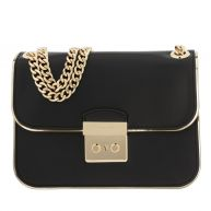 Michael Kors Schoudertassen - Sloan Editor MD Chain Shoulder Leather Black in zwart voor dames