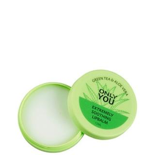 Lipbalm Lipbalm Verzachtende Lippenbalsem - Groene Thee & Aloe Vera