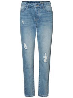 VERO MODA Ivy Lw Boyfriend Jeans Dames Blauw