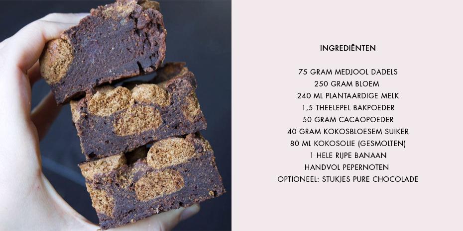 Pepernoten brownies