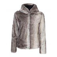 Dames faux fur jacket