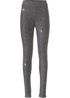 Dames legging in zilver