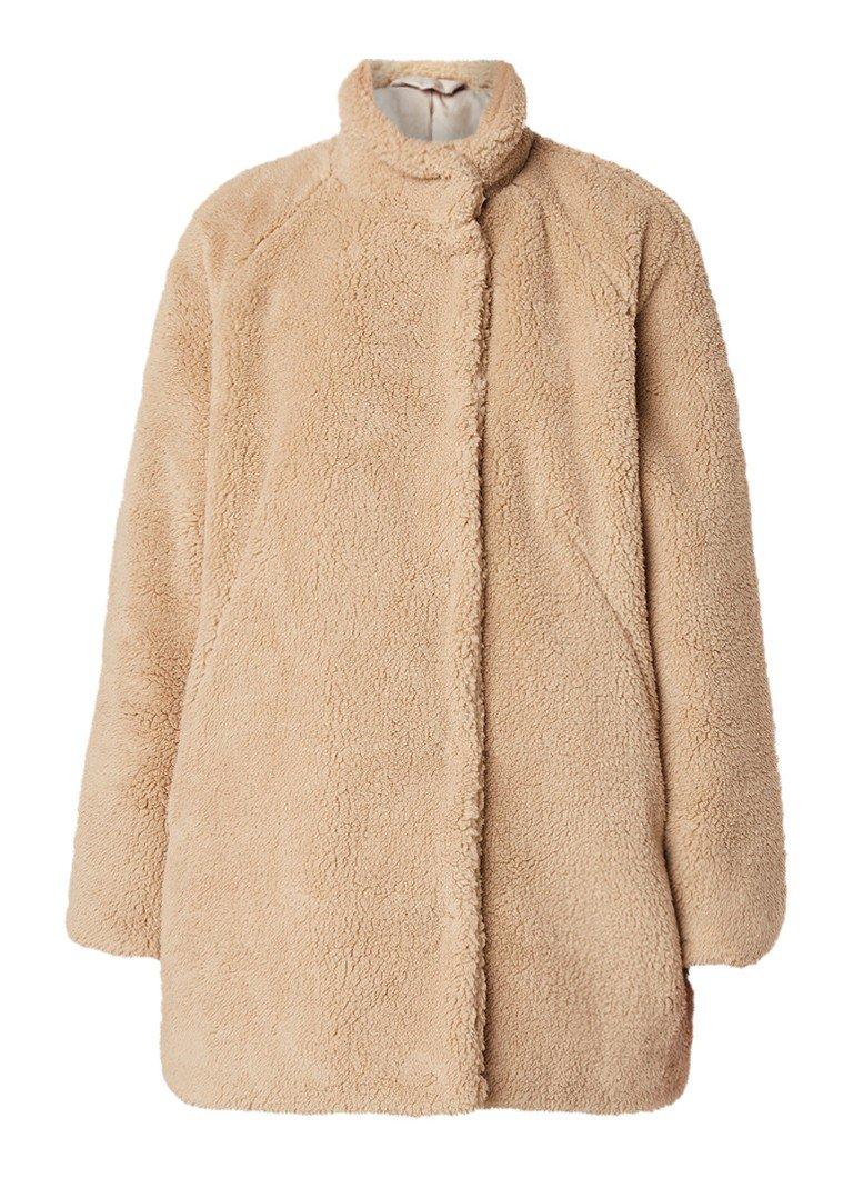 Teddy Jas Grijs.Teddy Coat Online Kopen Fashionchick Nl Alle Trends