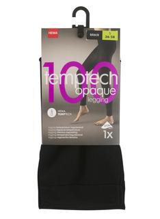 Legging 100 Denier Zwart (zwart)