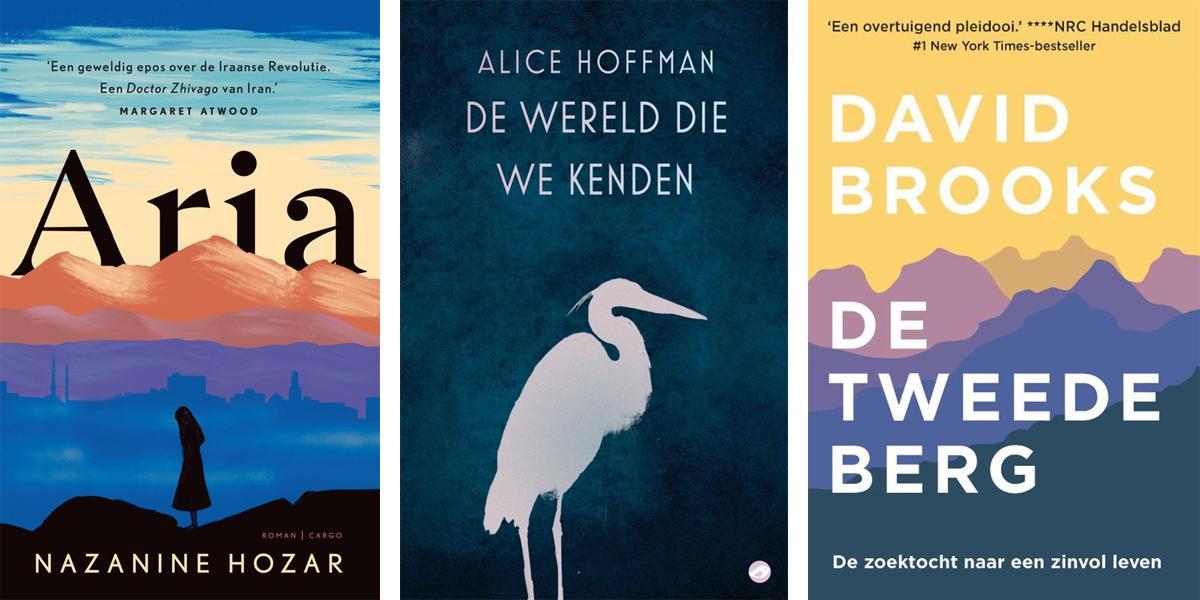 nieuwe boeken in maart