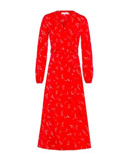 Wrap Dress Lovers Red