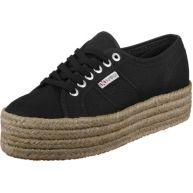 Superga 2790 Cotropew W schoenen zwart