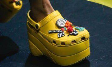What? Balenciaga en Crocs gaan bizarre samenwerking aan
