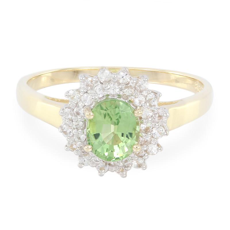 Juwelo Gouden ring met een chroom toermalijn Verkoop Perfect Goedkoop Wiki Klaring Classic Meerdere Soorten Van Outlet Grote Deals KzQ18R5mZq