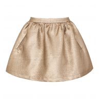 GOLD CLOCK SKIRT