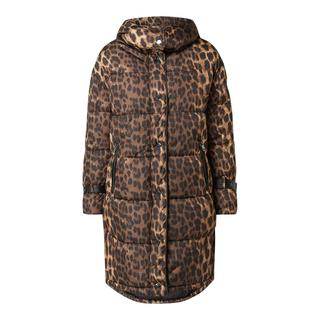 Gewatteerde jas met dierenprint