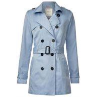 Klassieke trenchcoat - soft blue