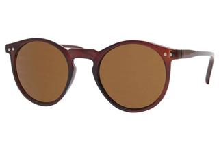 Hippe festival ronde clubmaster zonnebril voor de zomer 100% UV-bescherming NDL706