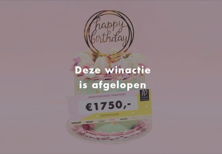 Schrijf je in & win €1750 shoptegoed van onze favoriete shops