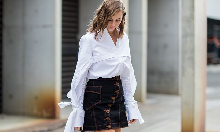 Must have: de witte blouse