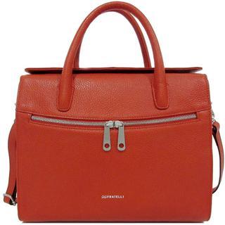 Dames Leren / Tablet tas 10 inch Romance Business ROM8010 Oranje