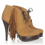 Lacing Fringes Pumps SuperTrash