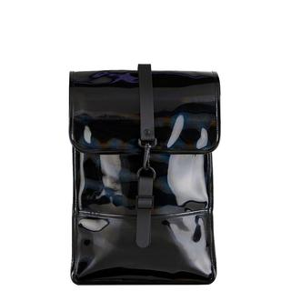 c5a980f87e6 Backpack Mini rugzak holographic black. €95.00. Rains