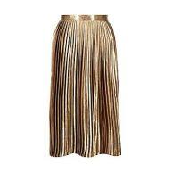 Boutique Kati Satin Pleated Midi Skirt