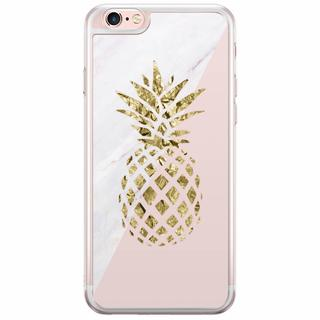 iPhone 6(s) Plus siliconen hoesje - Ananas