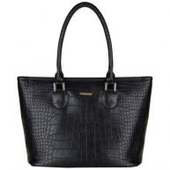 SuperTrash shopper Alabama Croc M black