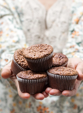 Cheat day: chocolade kruidnoten muffins