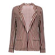 Maison Scotch Drapey pyjama inspired blazer