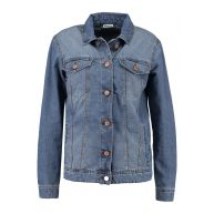 Noisy May NMOLE JACKET Spijkerjas dark blue denim
