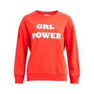 Vila Sweater Female Oranje
