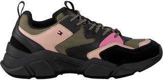 Groene Sneakers Cosy Chunky