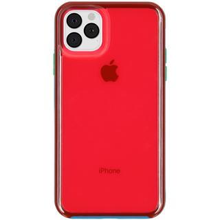 Slam Backcover voor de iPhone 11 Pro Max - Blauw / Roze