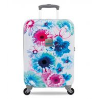 SUITSUIT Koffers Bright Botanica 20 inch Spinner Blauw