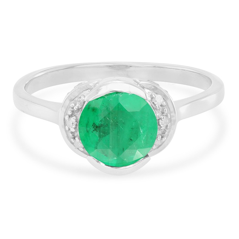 Anello D'oro Con Uno Smeraldo Juwelo Sao Francisco qlXKfa8g