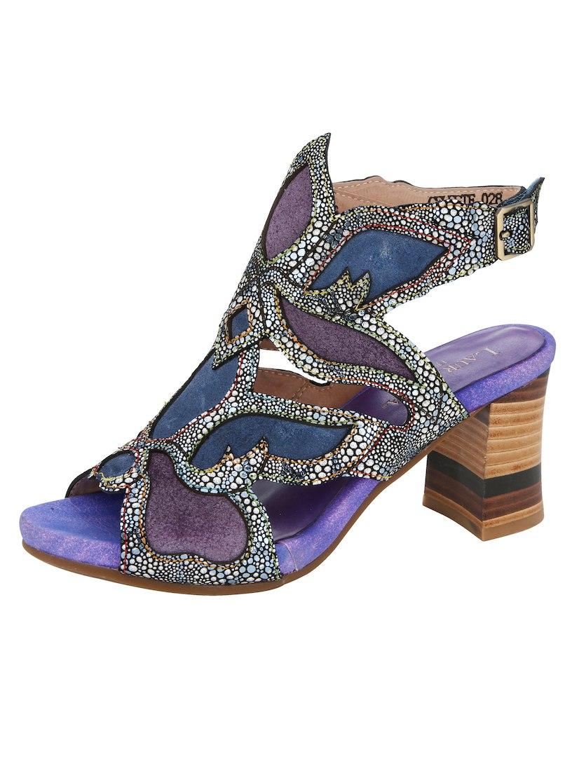 Sandalo Viola / Blu / Multicolore b84KJVQjJZ
