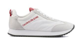 Dames Sneakers in Stof (Wit)