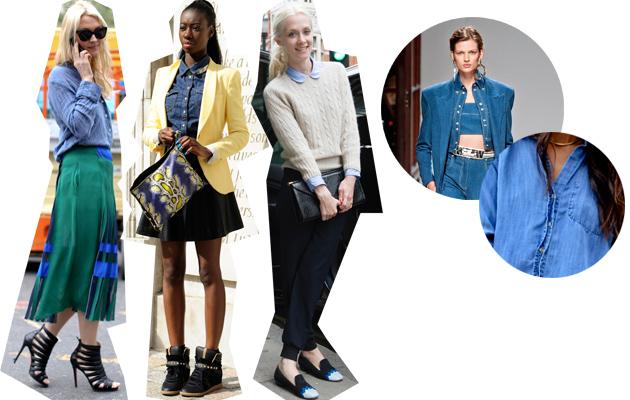 Streetstyle: De Spijkerblouses op de kop