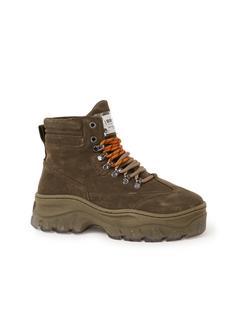 Jaxstar Hiking sneaker van suède